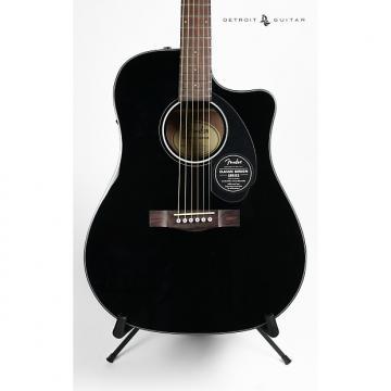Custom Fender CD-60SCE Black