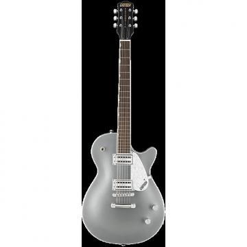 Custom Gretsch G5426 Jet Club Electric Guitar | Silver Finish - Black