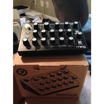 Custom Moog Minitaur w/ Box/Power Cable