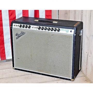 Custom 1969 Fender Twin Reverb Silverface Non Master Volume AB763 Circuit!