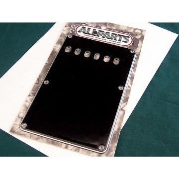 Custom Allparts Strat Tremolo Cover Black 3-ply PG 0556-033