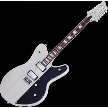 Custom Schecter Robert Smith Ultracure-XII Electric Guitar Vintage White