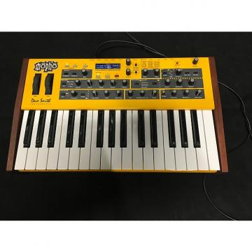 Custom Dave Smith Instruments MOPHO analog synthesizer Yellow