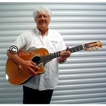 Custom Larry Coryell's Ovation 1863 Classical Electric