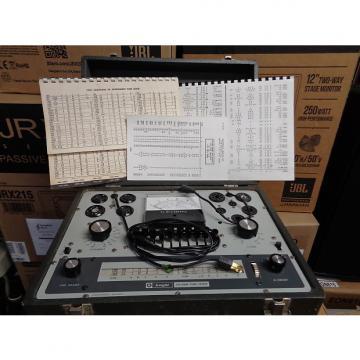 Custom vintage Knight KG-600B tube tester with tube guide books