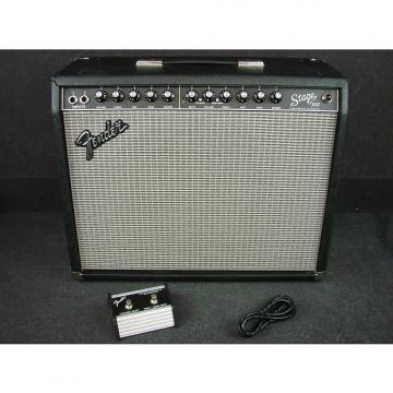 """Custom Fender Stage 100 1 x 12"""" 100-Watt Solid State Combo Amplifier W/Foot Switch"""