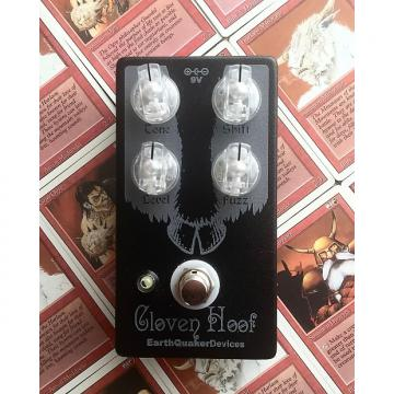 Custom Earthquaker Devices Cloven Hoof Inverse Black (CME Exclusive)