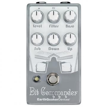 Custom Earthquaker Devices Bit Commander Octave Synth V2 Guitar Synthesizer Pedal