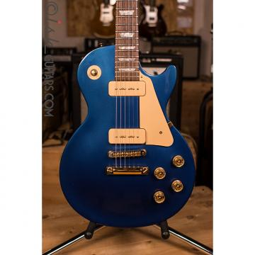 Custom Gibson Les Paul Studio GEM Sapphire Limited Edition P90
