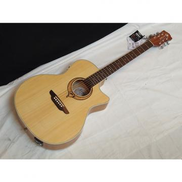 Custom LUNA Heartsong Grand Concert acoustic electric GUITAR new - USB - Fishman