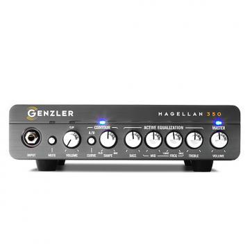 Custom Genzler Amplification Magellen 350 head - 350 watts in 3.5 pounds - New Model!