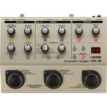 Custom BOSS VE-8 Voice Acoustic Singer Pedal