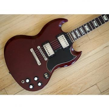 Custom 1987 Gibson SG Standard '61 Vintage Reissue Guitar Cherry Tim Shaw PAF w/ohsc