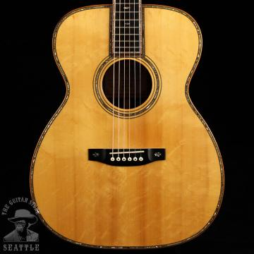 Custom J.D. Hanke & Sons OM-RP Brazillian Rosewood Bearclaw Spruce 2004 Natural Used