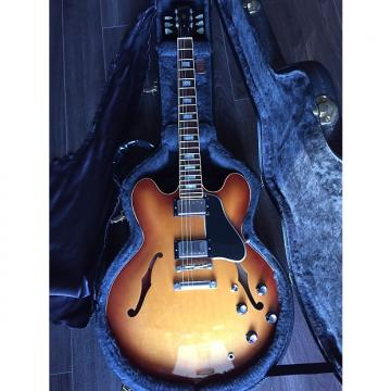 Custom Gibson ES 335 2005 Tea Burst Block inlay