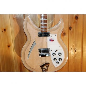 Custom Rickenbacker 381V69 2014 Mapleglo