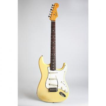 Custom Fender  Stratocaster Solid Body Electric Guitar (1965), ser. #108023, original black tolex hard shell case.