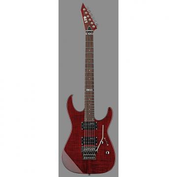Custom ESP LTD M100FM Electric Guitar, See Thru Black Cherry, LM100FMSTBC