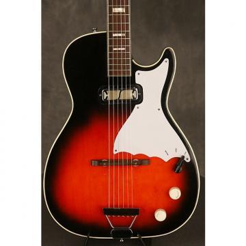 Custom Harmony Stratotone 1960s Redburst