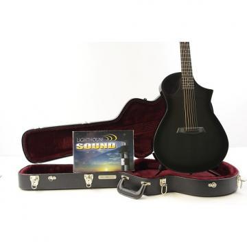 Custom Composite Acoustics Xi Acoustic-Electric Guitar - Gloss Carbon Burst w/OHSC