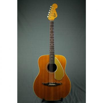 Custom 1968-71 Fender Palomino Acoustic Guitar with HSC