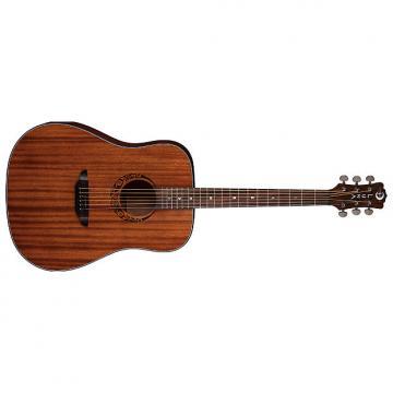 Custom Luna Gypsy Dreadnought Mahogany Acoustic Guitar