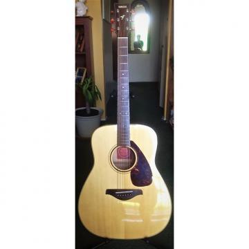 Custom Yamaha FG 750S  Electric!....includes guitar case.