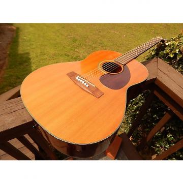 Custom Yamaha FG-75 Acoustic 70's Natural