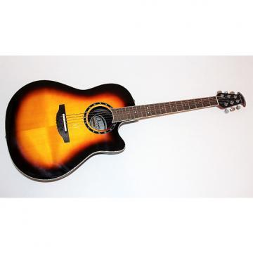 Custom Ovation Standard Balladeer 2771 AX Sunburst Acoustic-Electric Guitar w/ Gigbag