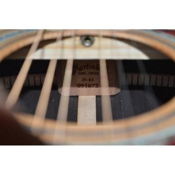 Custom martin Shop martin guitars acoustic Dreadnought martin guitar strings acoustic Martin martin acoustic strings D45 guitar martin Natural Acoustic Guitar Fishman Pickups Sitka Solid Spruce Top With Ox Bone Nut & Saddler
