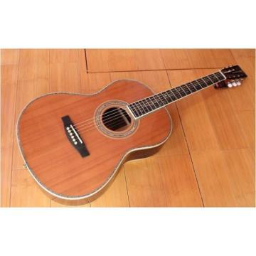 Custom Shop Martin D45 1833 Cedar Wood Body Acoustic Guitar Sitka Solid Spruce Top With Ox Bone Nut & Saddler