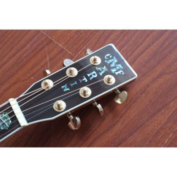 Custom Shop CMF Martin D45 Natural Acoustic Guitar Sitka Solid Spruce Top With Ox Bone Nut & Saddler