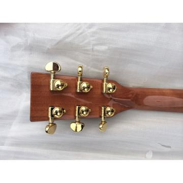 Custom Shop 1833 Martin D45 Natural Acoustic Guitar Sitka Solid Spruce Top With Ox Bone Nut & Saddler