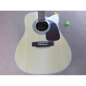 Custom dreadnought acoustic guitar Martin martin guitar strings acoustic medium Natural martin guitar strings acoustic D28 martin d45 Acoustic guitar martin Electric Guitar with EQ fishman Sitka Solid Spruce Top With Ox Bone Nut & Saddler