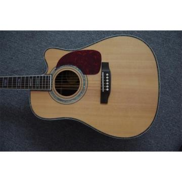 Custom Martin D45S Cutaway Acoustic Guitar Sitka Solid Spruce Top With Ox Bone Nut & Saddler