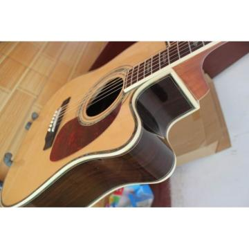 Custom Martin D45S Acoustic Electric Guitar Sitka Solid Spruce Top With Ox Bone Nut & Saddler