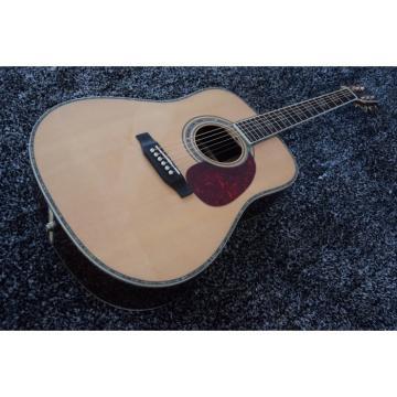 Custom martin acoustic guitar Dreadnought acoustic guitar strings martin D45S martin 1833 martin acoustic guitar strings Martin dreadnought acoustic guitar Acoustic Guitar Sitka Solid Spruce Top With Ox Bone Nut & Saddler