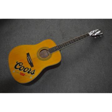 Project martin guitar Coors acoustic guitar strings martin Banquet martin acoustic guitar Acoustic dreadnought acoustic guitar Guitar martin guitars acoustic With Custom Coors Logo