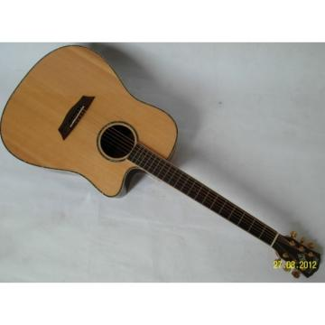 Custom Washburn Acoustic Guitar WD28S