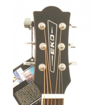 Eko Ranger 6EQ Dreadnought Acoustic/Electric Guitar In Natural Finish