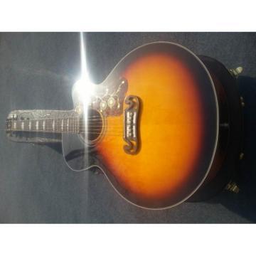 Custom martin Shop martin guitar SJ200 martin guitars acoustic Sunburst martin acoustic guitar Vintage dreadnought acoustic guitar Acoustic Guitar