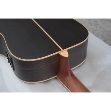 Custom Shop Jack Daniels Dark Acoustic Guitar with Fishman EQ