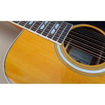 Custom Shop EKO Full Size 12 String Acoustic Guitar