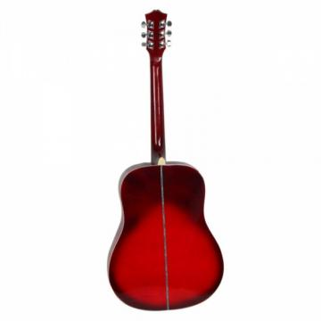 "Beginner martin guitars acoustic 41"" martin Folk dreadnought acoustic guitar Acoustic martin strings acoustic Wooden guitar strings martin Guitar Red"
