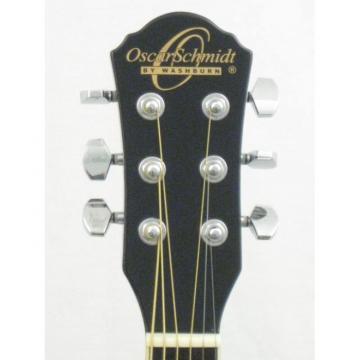 Brand New Washburn OGHS/B Black Finish Half Size Smaller Acoustic Guitar