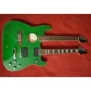 Custom martin d45 Ibanez martin guitar accessories JEM martin Green martin guitar strings acoustic Double martin acoustic guitar Neck Acoustic Electric 6 6 Strings Guitar