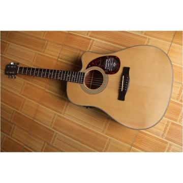 "Custom martin strings acoustic Cutaway dreadnought acoustic guitar 41"" martin d45 Acoustic martin guitars Guitar martin guitar strings acoustic medium Solid Spruce Top With EQ"