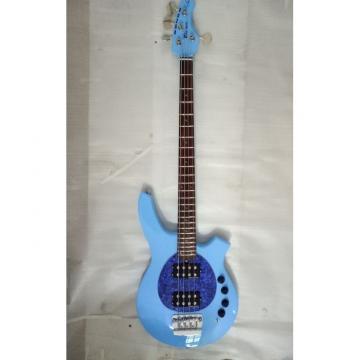 Project  Bongo Music Man Sky Blue 4/5 String Passive Pickups Bass