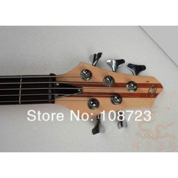PRO Qulaity 5-String Electric Bass Guitar Ash Wood Thru Neck