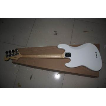 Custom Shop White Fender Jazz Bass